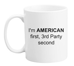 American 1st, 3rd-Party 2nd