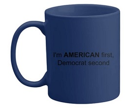 American 1st, Democrat 2nd